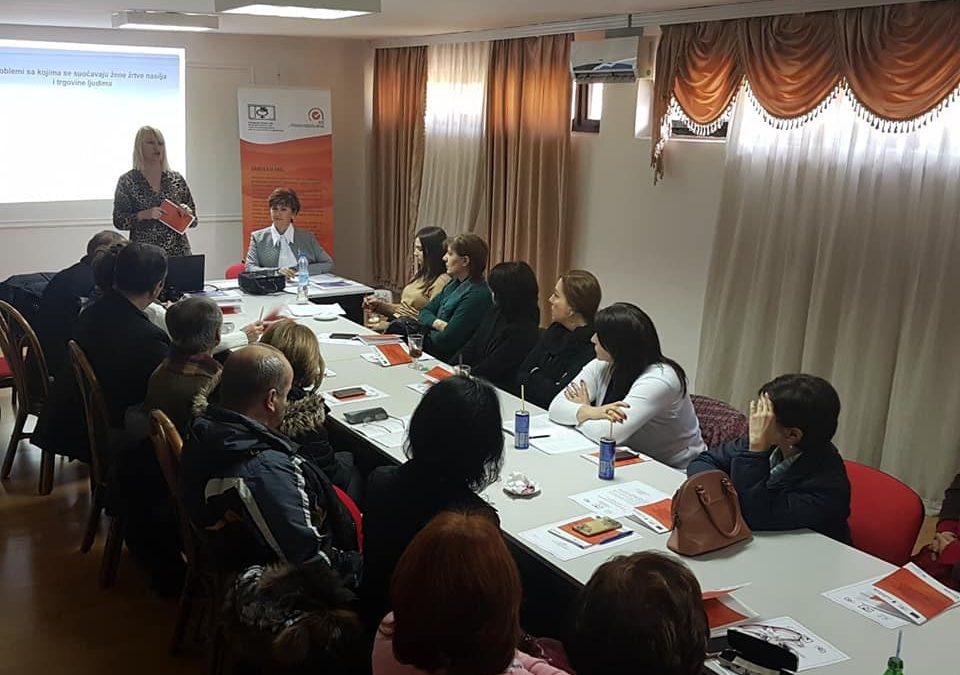 """Prezentacija publikacije """"Bolji put za žene žrtve trgovine ljudima"""""""