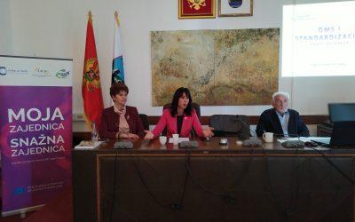 """Panel diskusija """"Sistem obezbjeđenja kvaliteta u radu nevladinih organizacija u Crnoj Gori- ISO 9001 standard"""""""