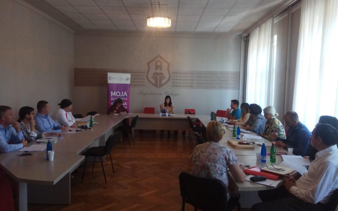Sastanak sa odbornicima Skupštine Prijestonice Cetinje